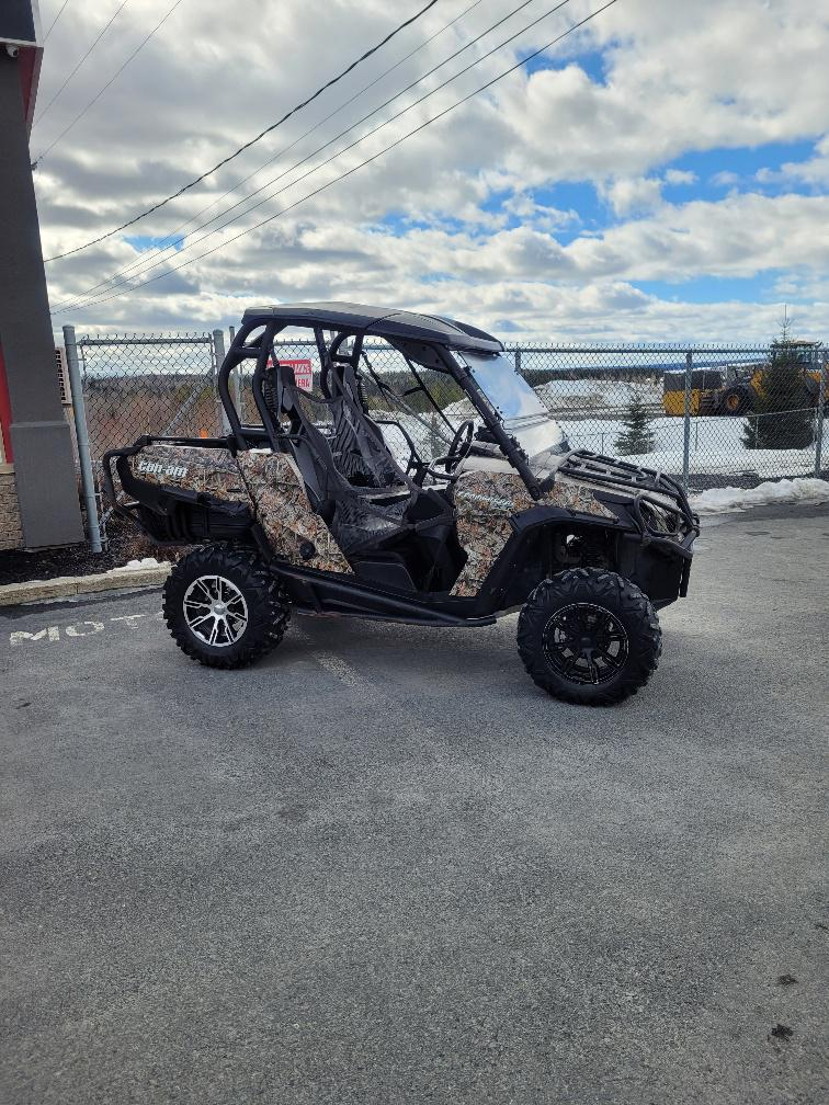 CAN-AM COMMANDER 800 XT CAMO ( NON EPS ) 2012