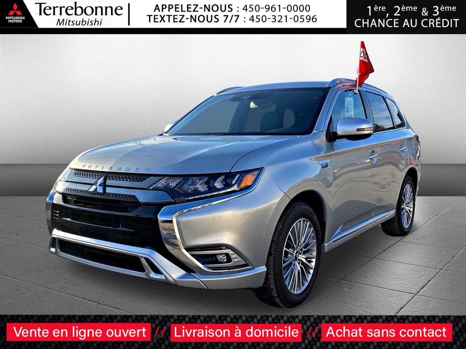 Mitsubishi Outlander PHEV 2020 *GT AWD**CUIR**TOIT OUVRANT**CAM. RECUL 360 D