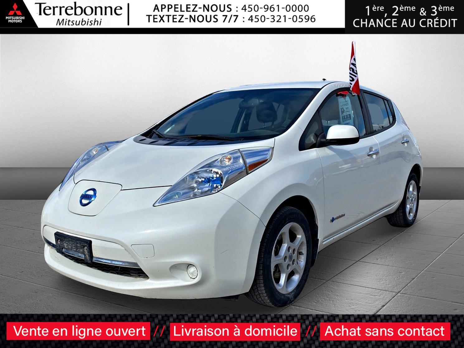 2013 Nissan LEAF SV**PNEUS HIVER ET PNEUS ÉTÉ**GPS