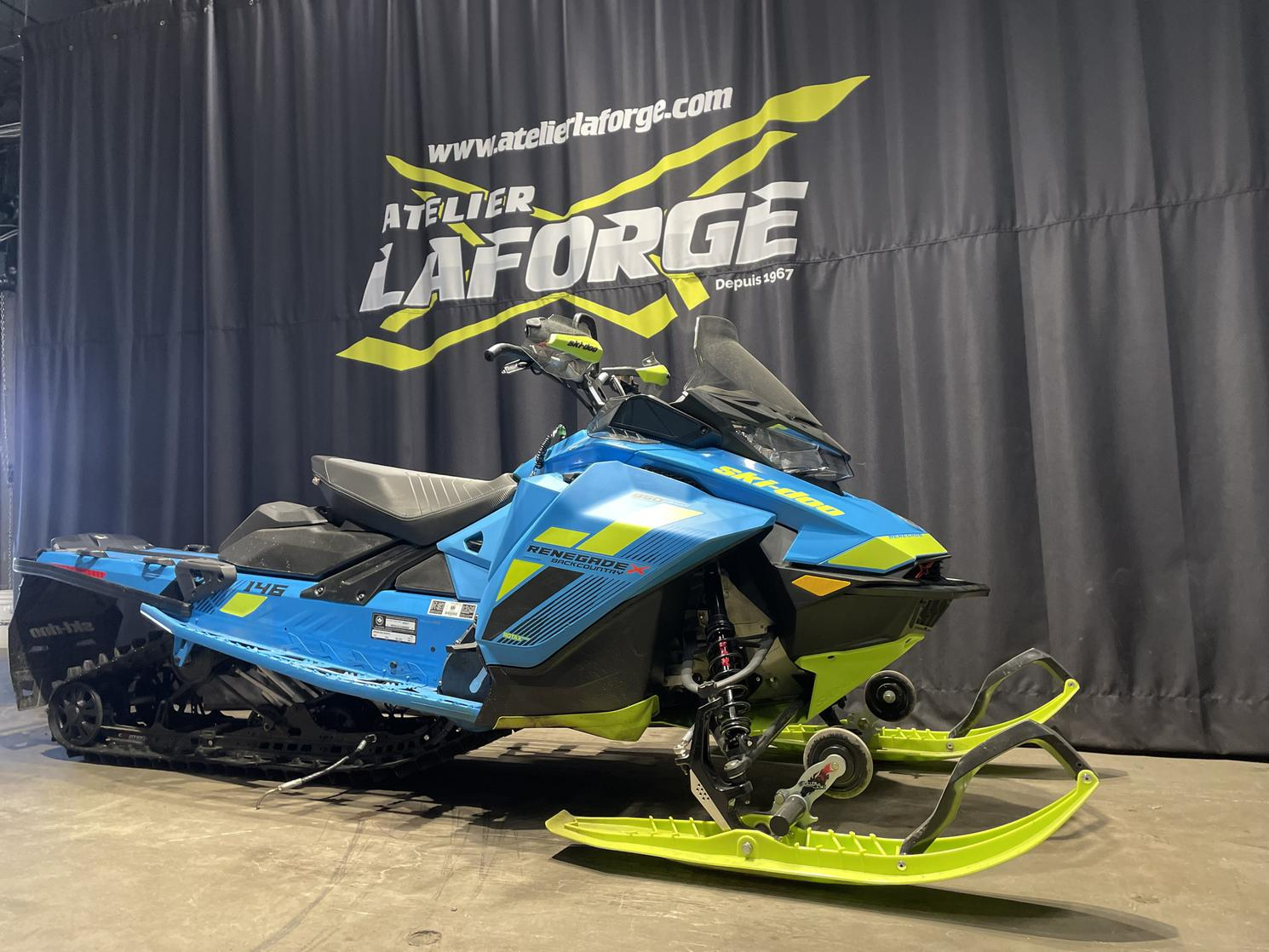 2018 Ski-doo BACKCOUNTRY X 850 146