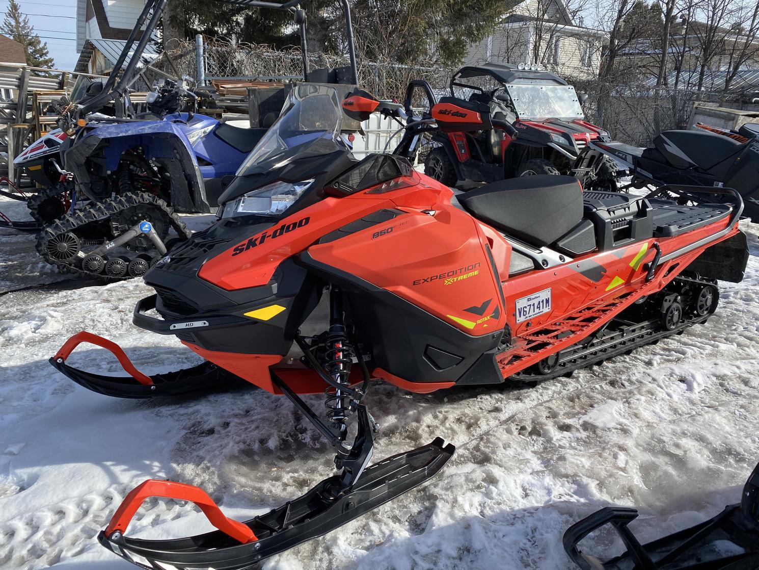 Ski-Doo Expedition Extreme 850 e tec 2021 - Brp / ski doo / bombardier xtreme