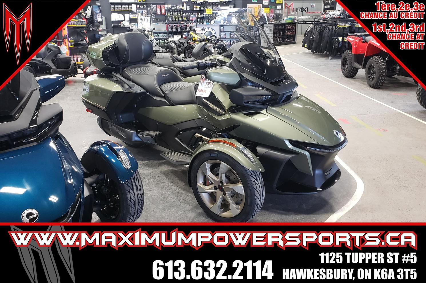 2021 Can-Am SPYDER RT SEA TO SKY