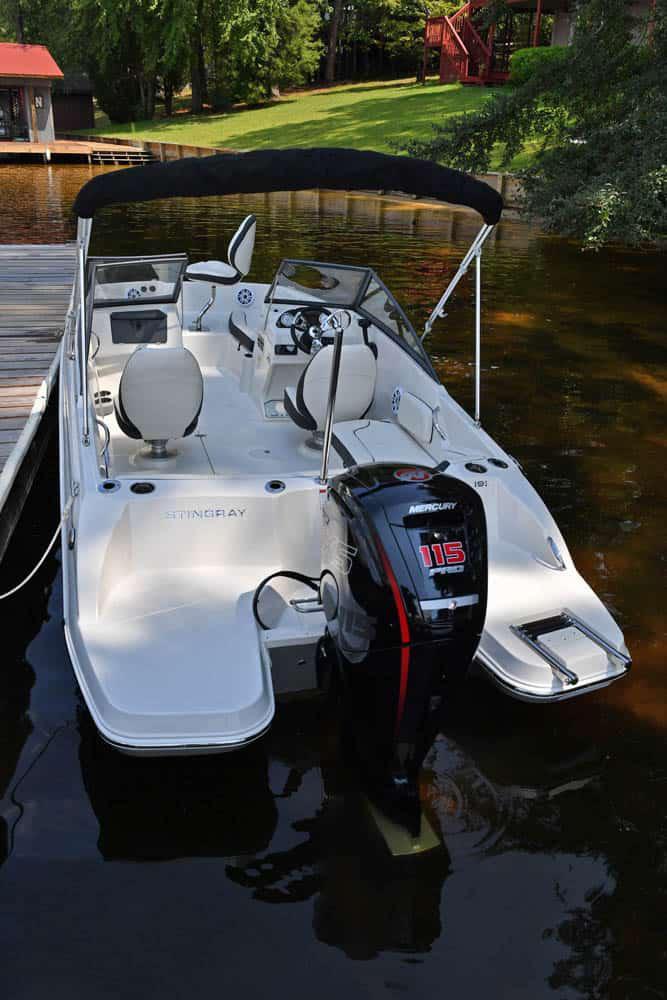 2021 Stingray Boat Co 191-DC