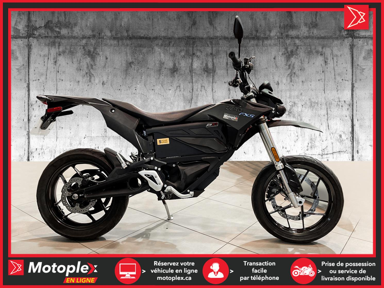 U4375 Zero Motorcycles Moto électrique – FXS 6.5 2017