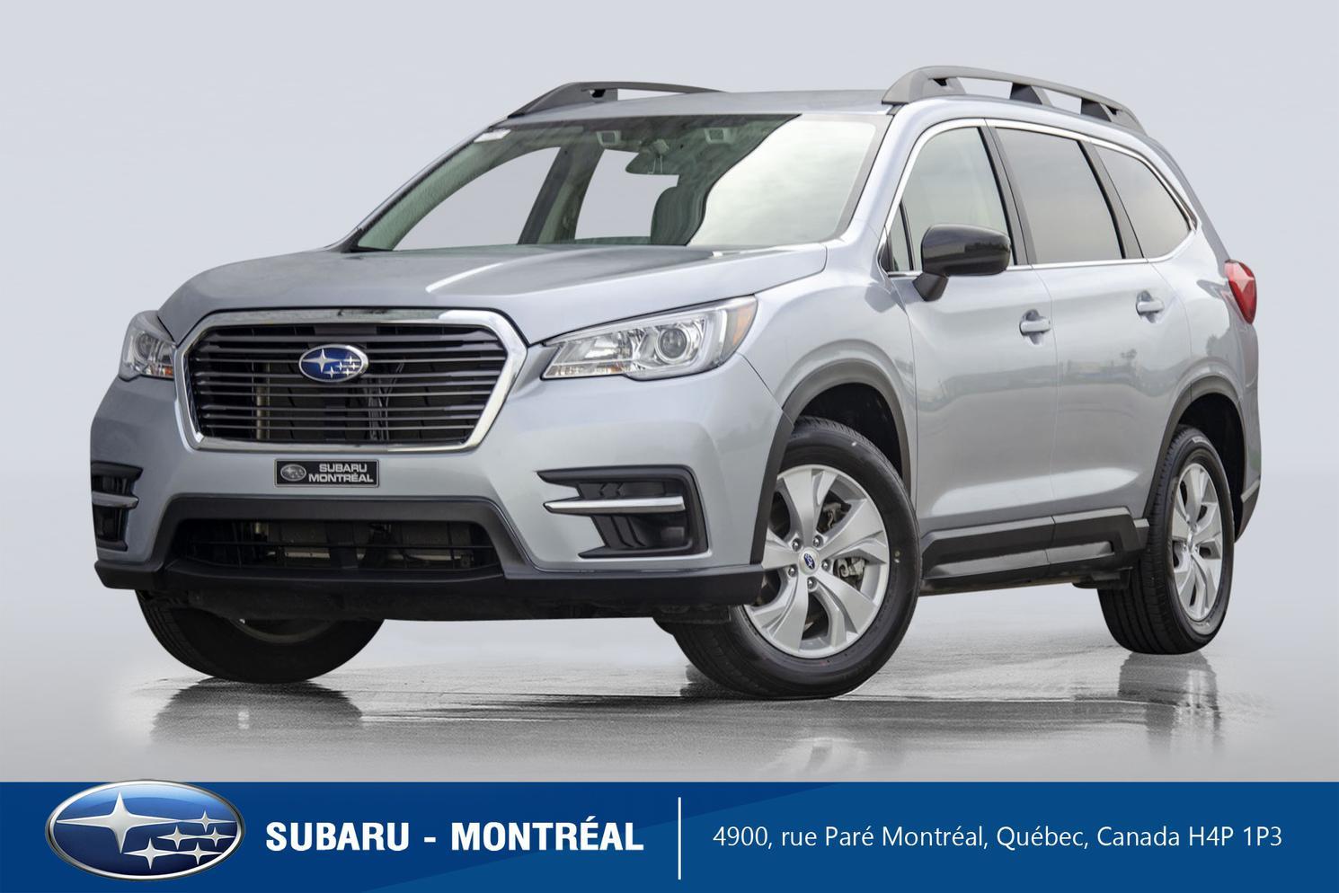 2021 Subaru Ascent Convenience Eyesight 8 passagers – $388+tx /mois
