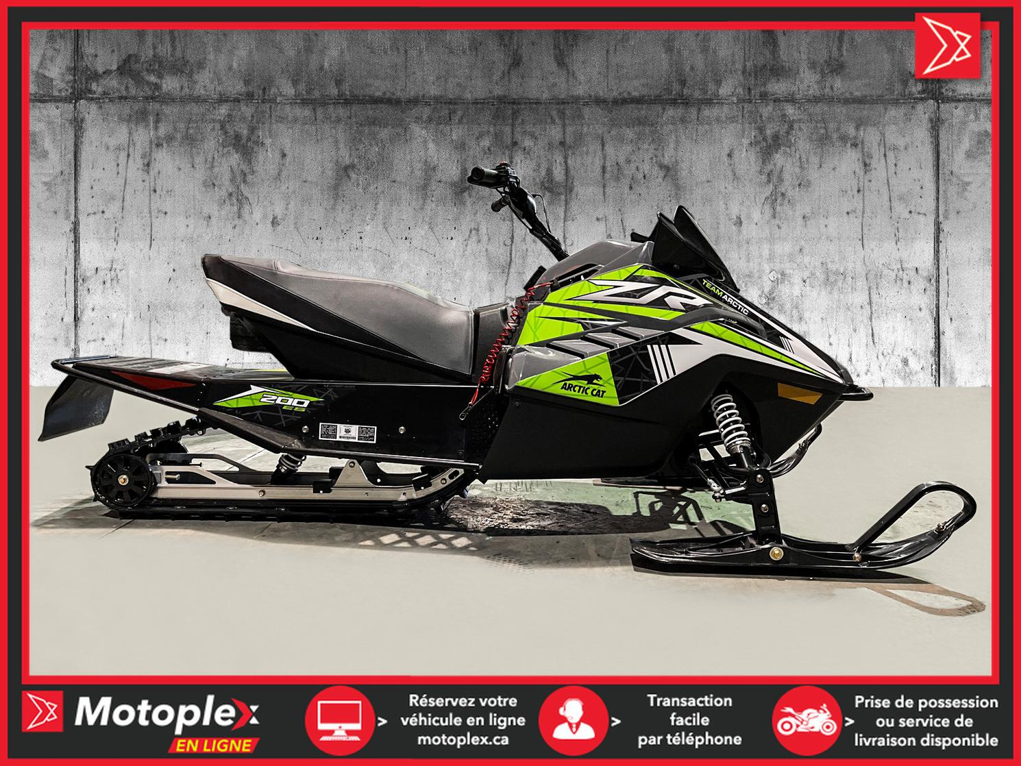 2021 Arctic Cat ZR200 DEMO - 1 SEUL DISPONIBLE