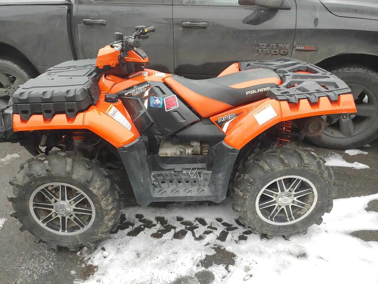 Polaris SPORTSMAN 850 EPS 2012