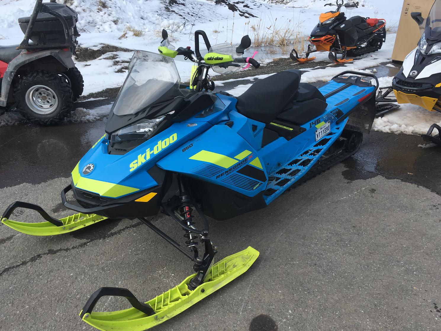 2018 Ski-Doo RENEGADE BACKCONTRY X 850