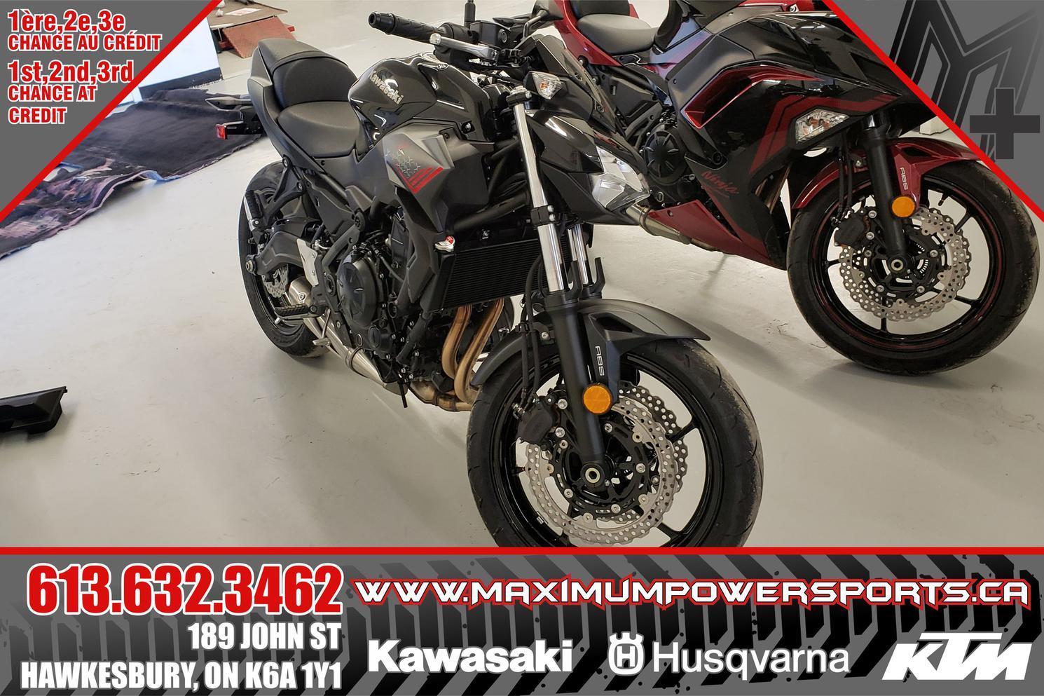 2021 Kawasaki Z650 Z650 ABS