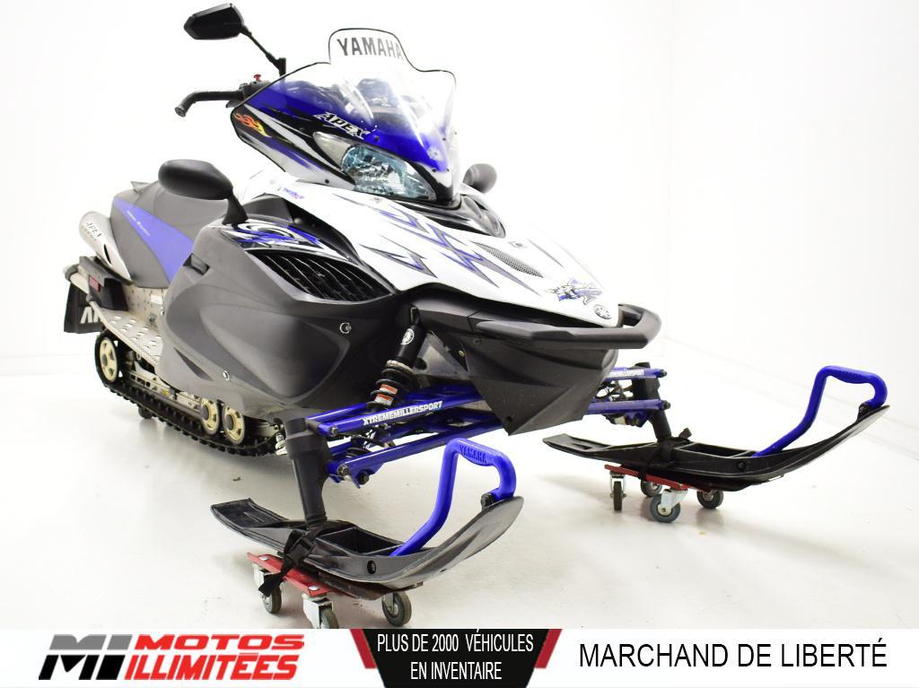 2009 Yamaha Apex LTX GT Frais inclus+Taxes