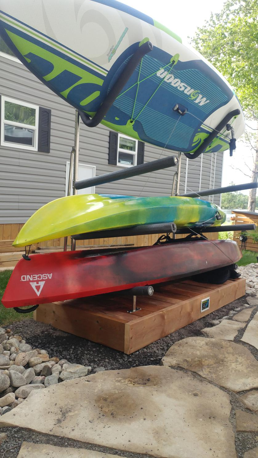 2021 Magma SUP Rack - Floor/Deck model with 2 sets Angled Arms