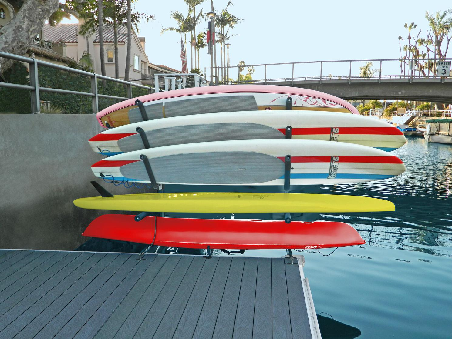 2021 Magma SUP Rack - Over the Water with 2 Angled Arm Sets