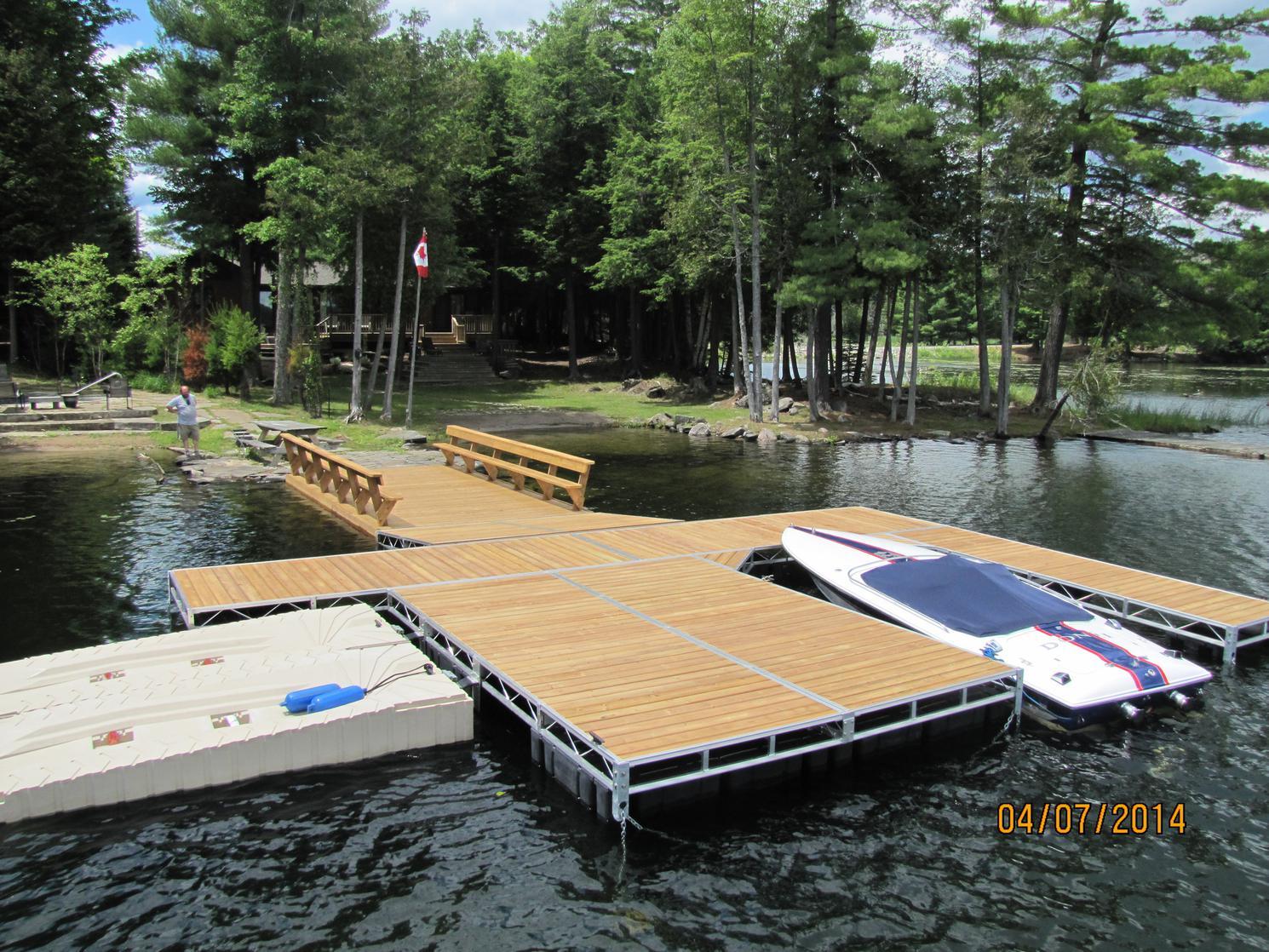 2021 ShoreMaster Infinity FTS-9 Floating dock