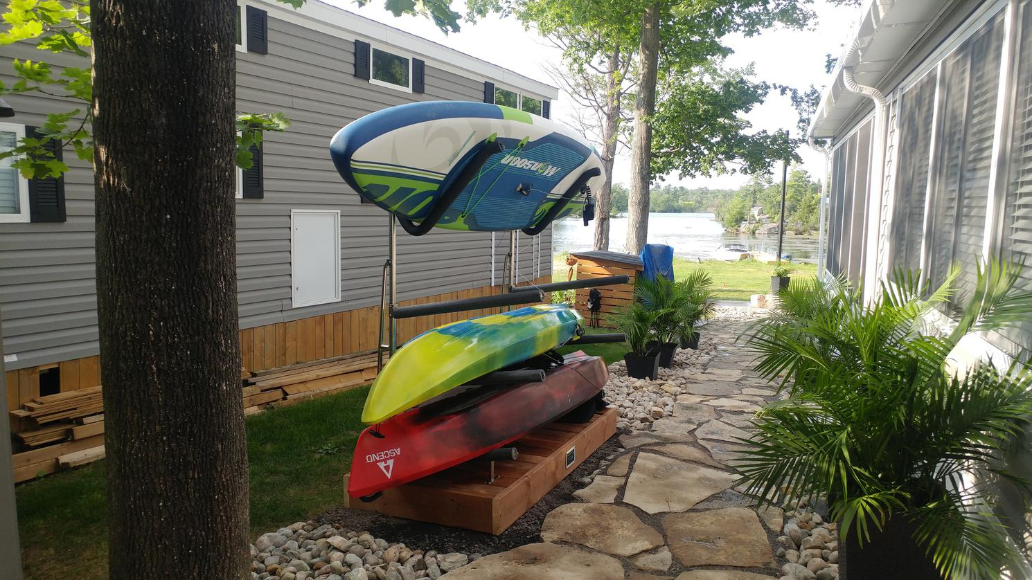 2021 Magma SUP Rack - Floor/Deck model with 2 sets Straight Arms