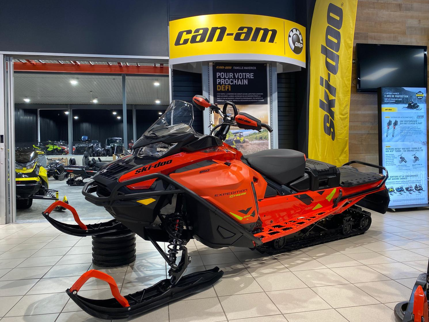 2021 Ski-Doo Expedition XTREME 850