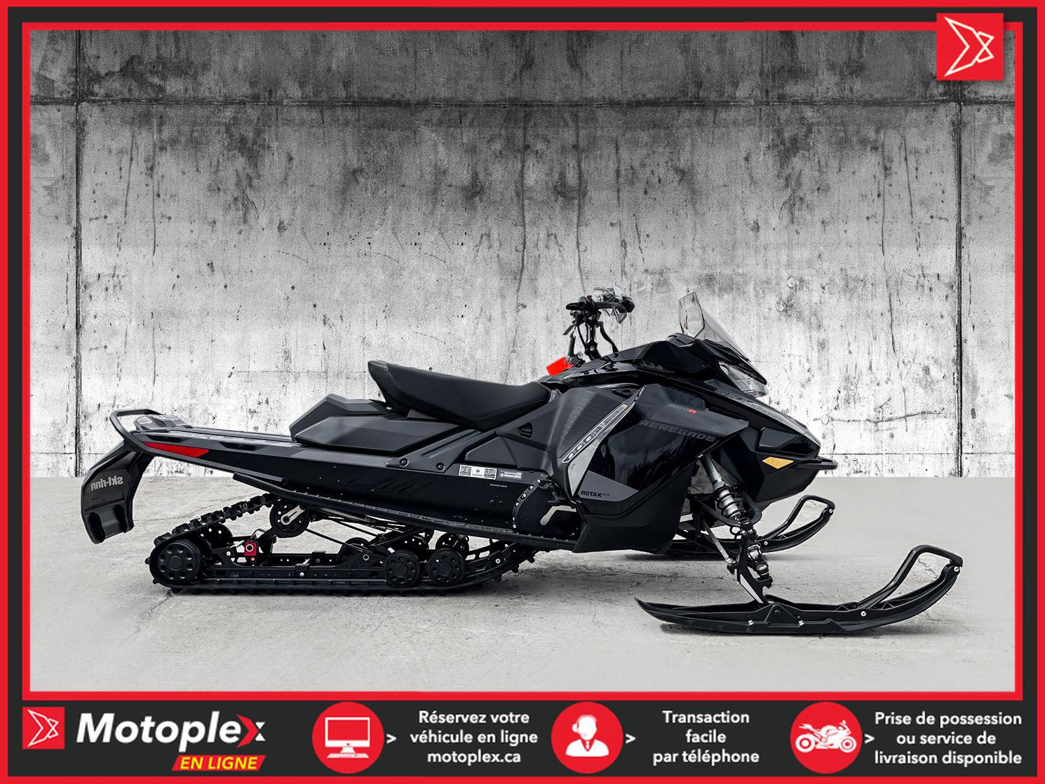 2021 Ski-Doo RENEGADE ADRENALINE  600 E-TEC - 39$/SEMAINE