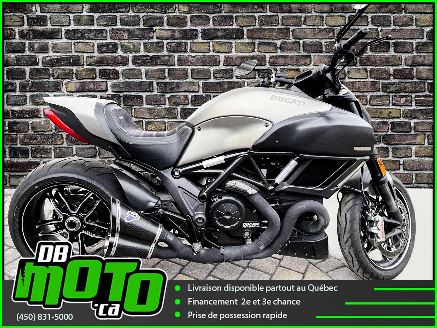 2015 ducati DIAVEL TITANIUM LIMITED EDITION  150 SUR 500