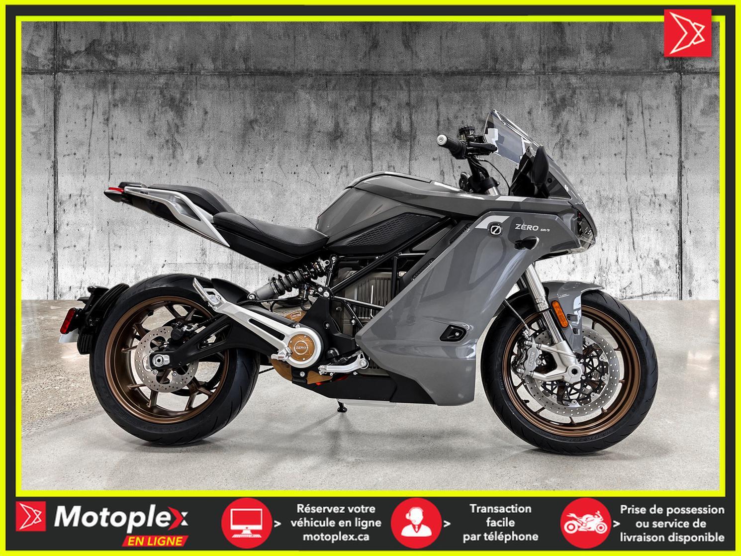 2020 Zero Motorcycles SR/S DEMO Autonomie 320 KM - 64$/SEMAINE