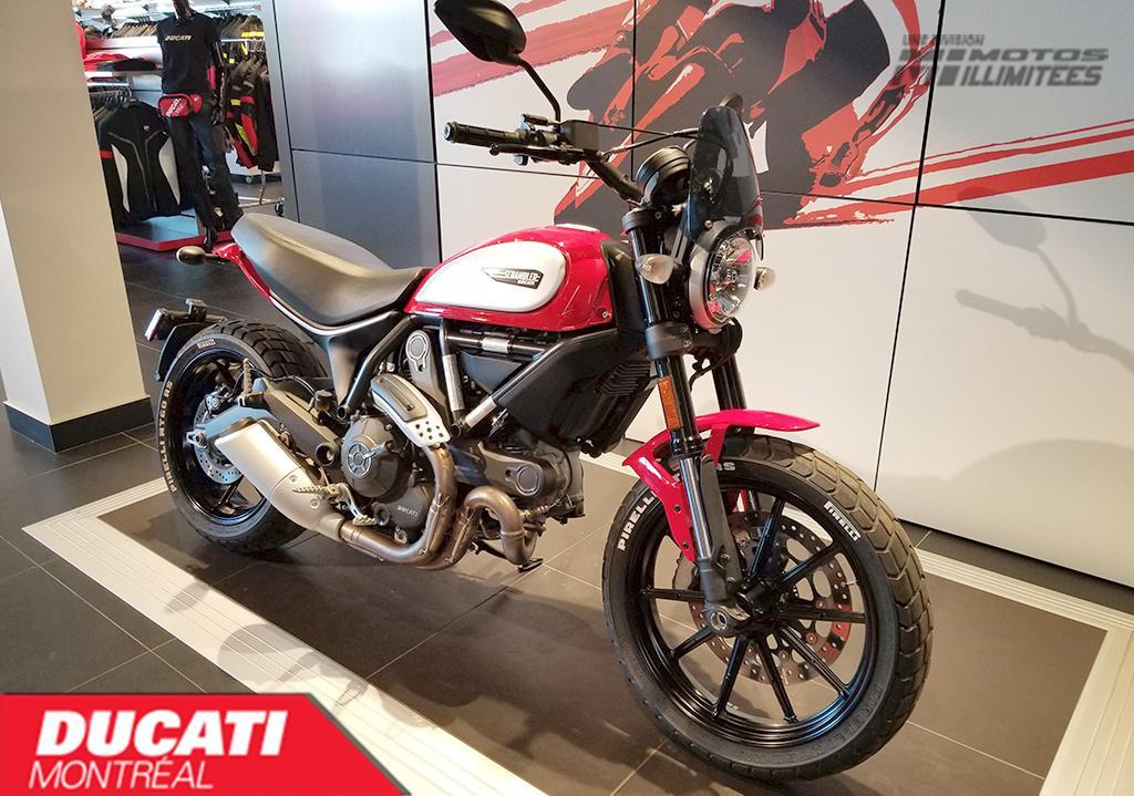 2016 Ducati Scrambler Icon Frais inclus+Taxes