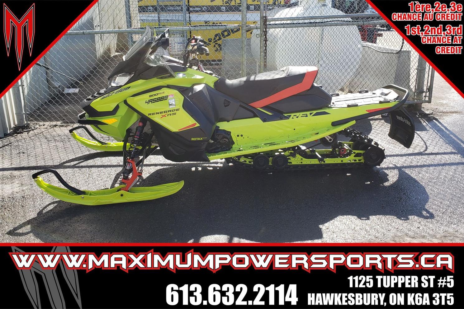 Ski-Doo RENEGADE 2020 - RENEGADE X-RS 900 ACE TURBO E.S. ICE RIPPER XT 1.25