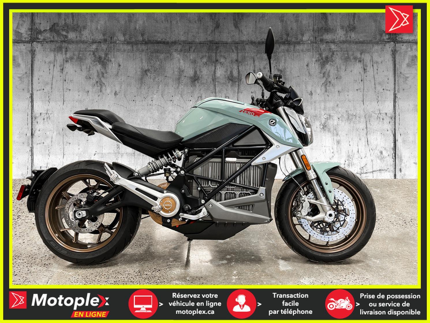 2020 Zero Motorcycles SR/F DEMO Autonomie 320 KM - 58$/SEMAINE