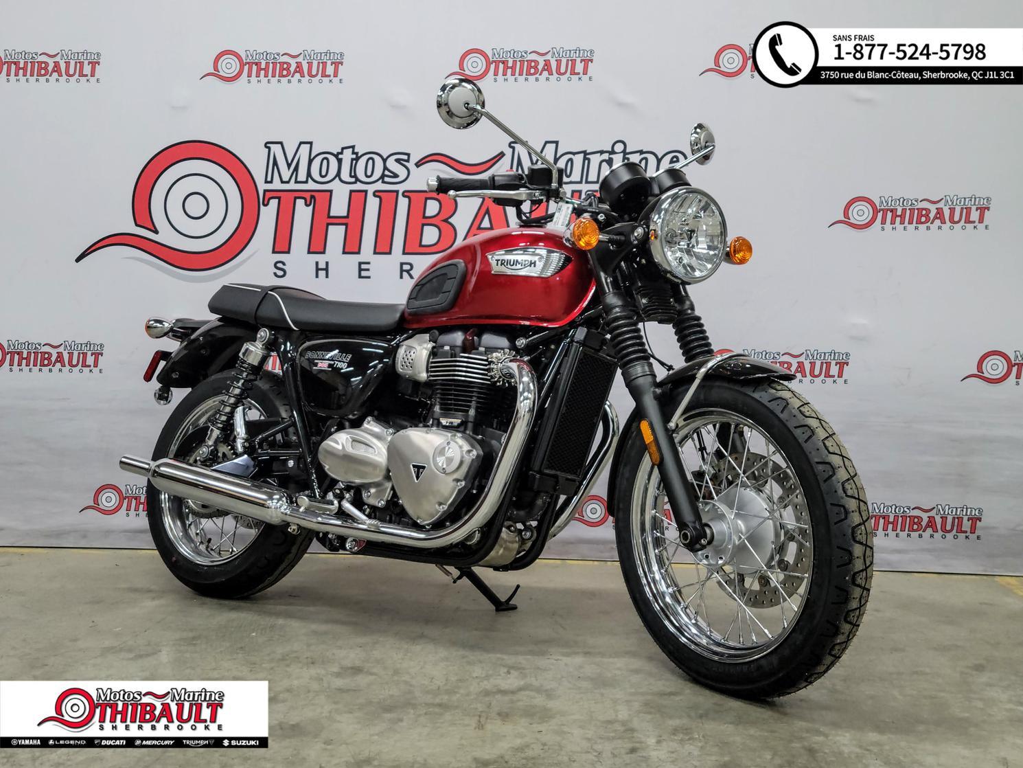 Triumph Bonneville - T100 2020