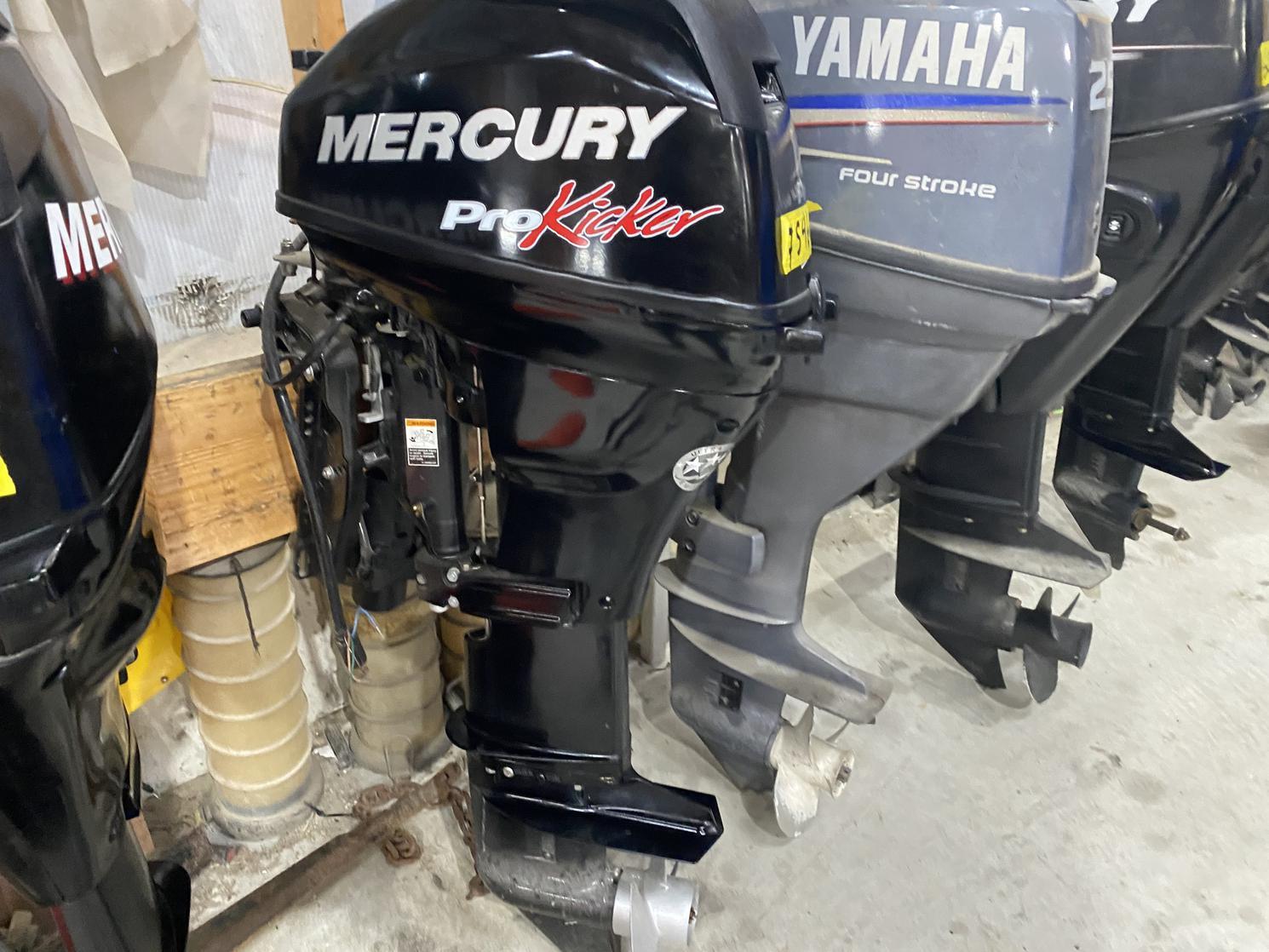 Mercury MERCURY 15 HP PRO KICKER 2018