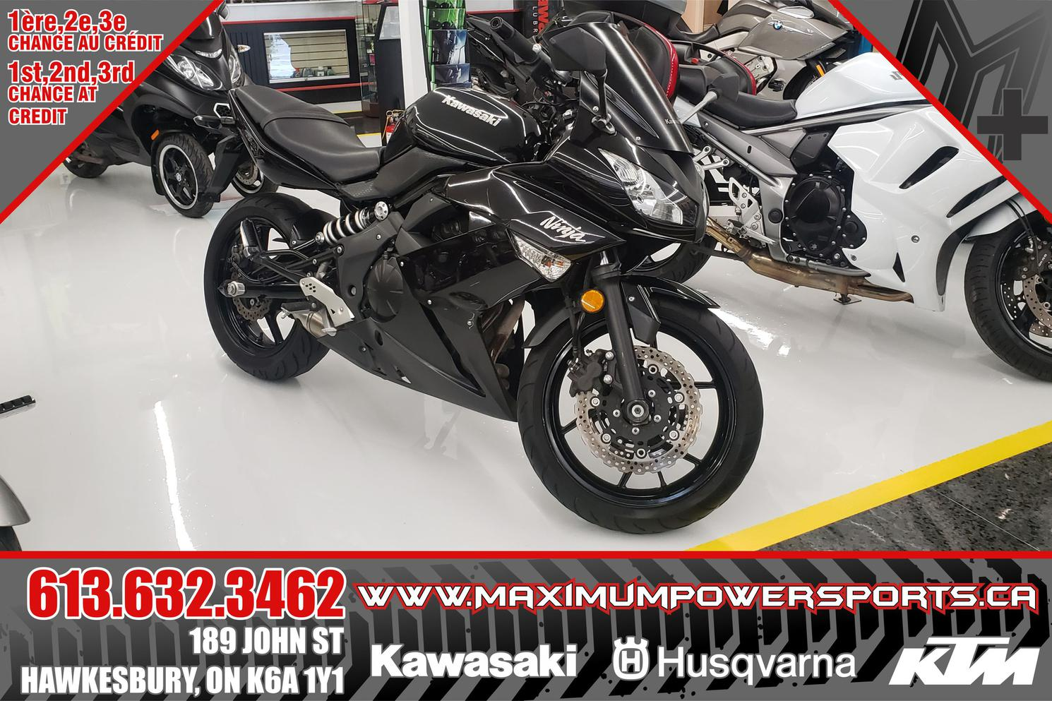 2011 Kawasaki EX650C UNKNOWN