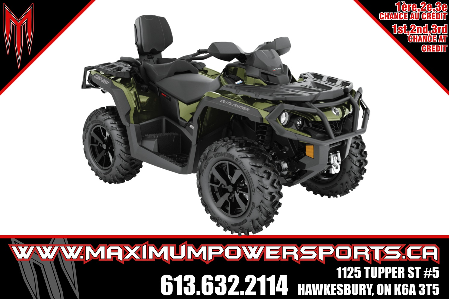 Can-Am OUTLANDER MAX - OUTLANDER MAX XT 650 2021