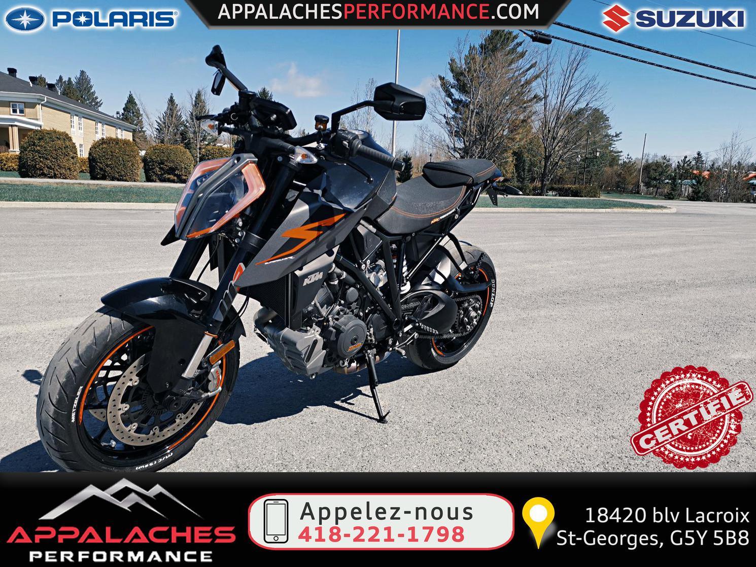 2018 KTM SUPER DUKE 1290 R