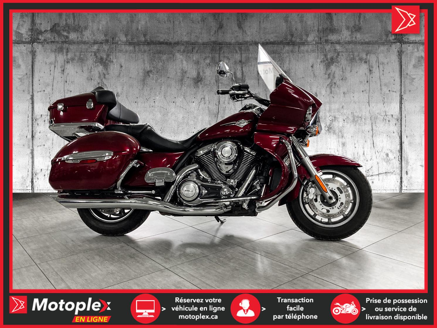 2009 Kawasaki VOYAGER 1700 VULCAN 1700 48$/SEMAINE
