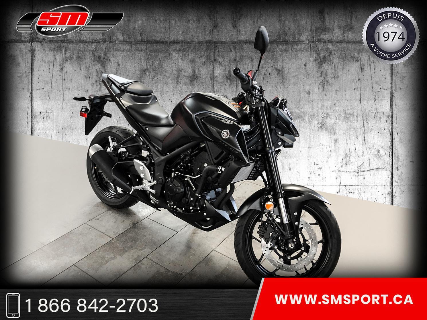 2021 Yamaha MT-03 - NEUVE DISPONIBLE EN STOCK