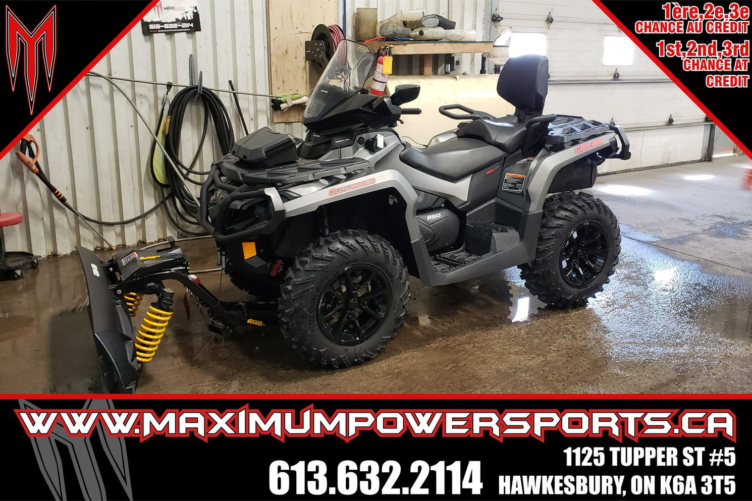 2017 Can-Am OUTLANDER MAX OUTLANDER MAX XT 850