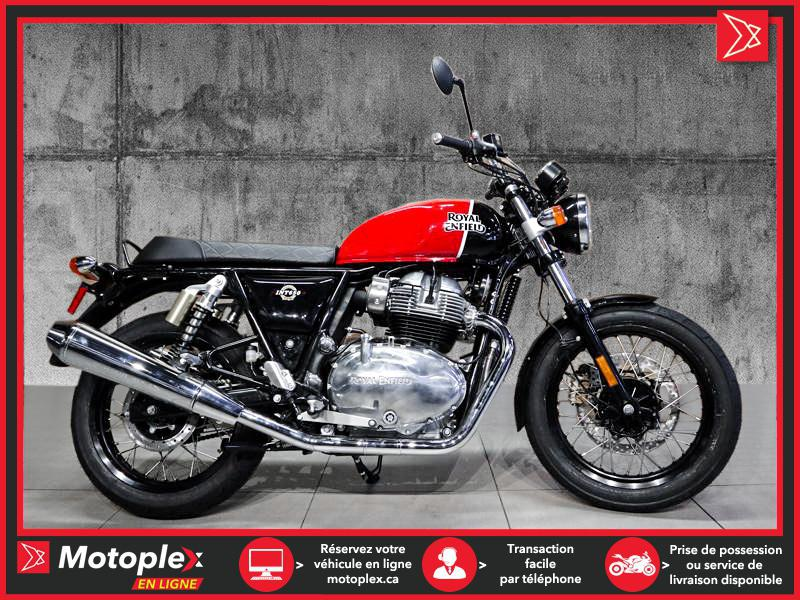 Royal Enfield INTERCEPTOR 650 RAVISHING RED 2021