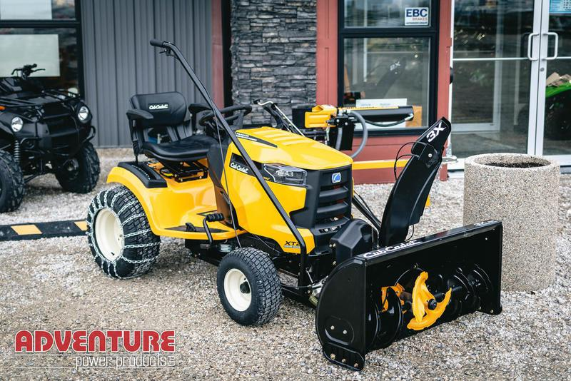 """Cub Cadet XT2 SLX50"""" Lawn Tractor/Snowthrower Package Deal"""