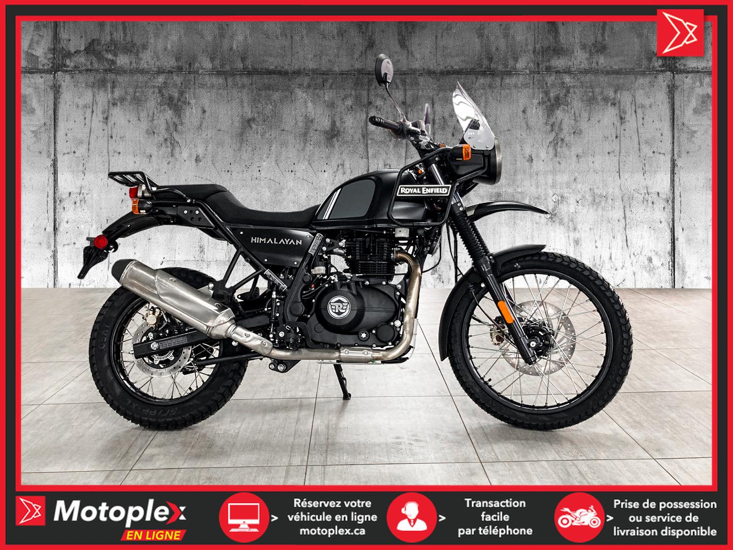 Royal Enfield HIMALAYAN GRANITE BLACK 2021