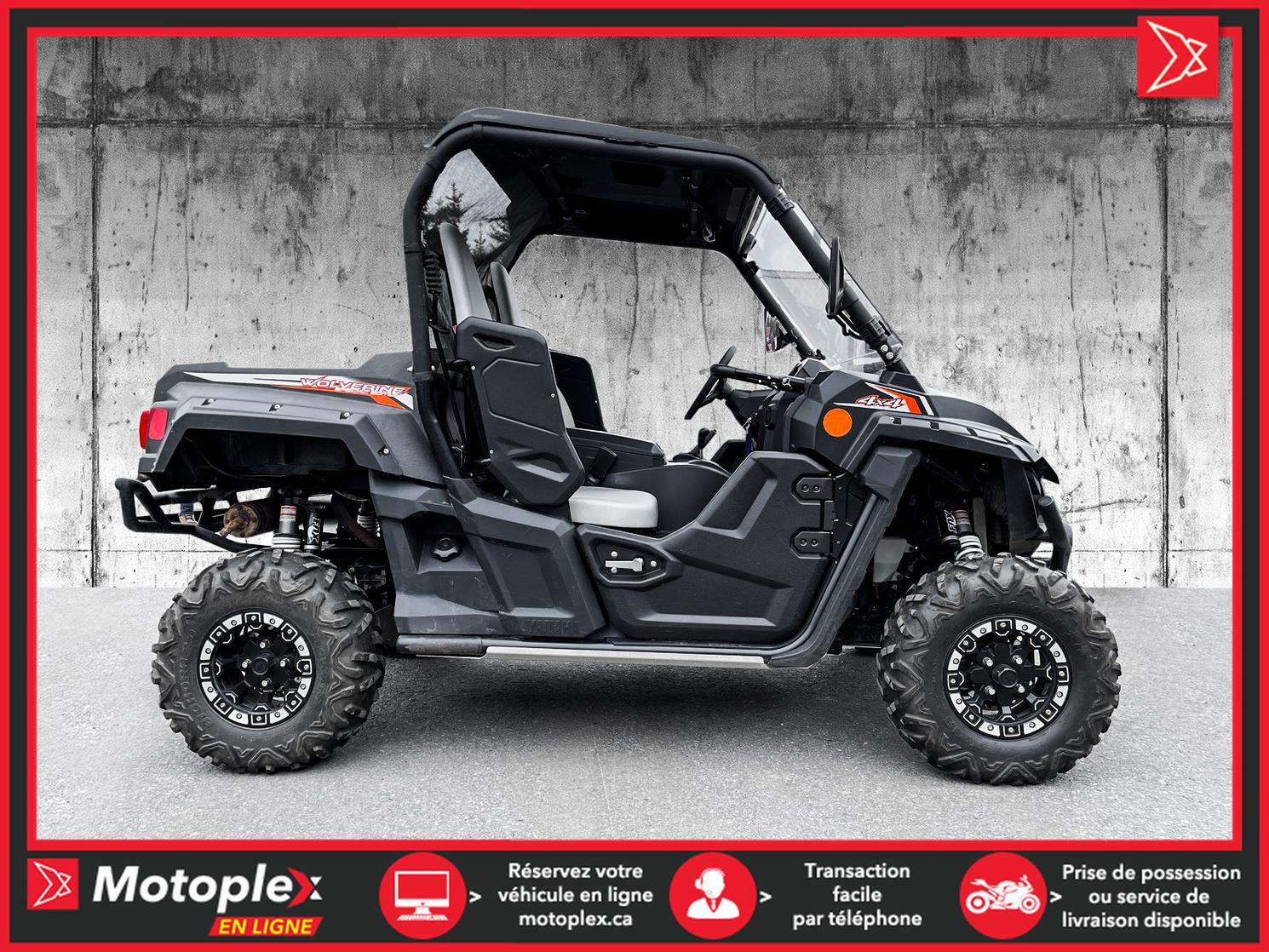 2016 Yamaha WOLVERINE R-SPEC SPECIAL EDITION 73$/semaine