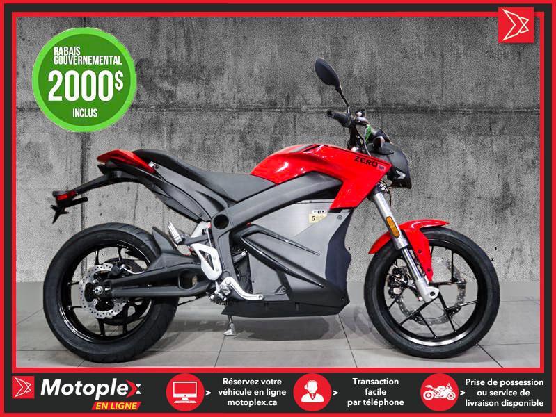 Zero Motorcycles Moto électrique - SR ZF 14.4 Power Tank 2021