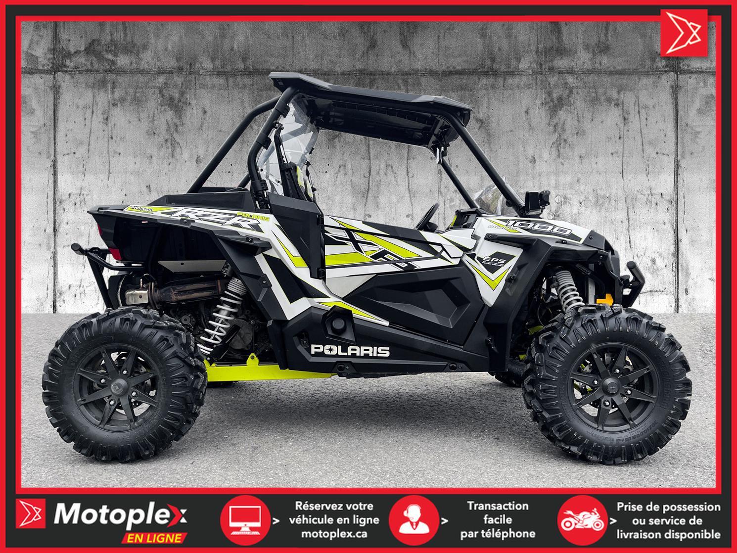 2018 Polaris RZR XP1000 EPS 74$/semaine