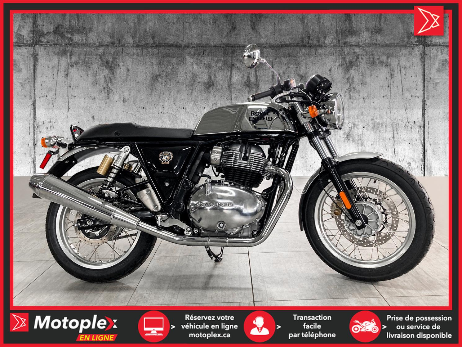 2021 Royal Enfield CONTINENTAL GT 650 MISTERCLEAN