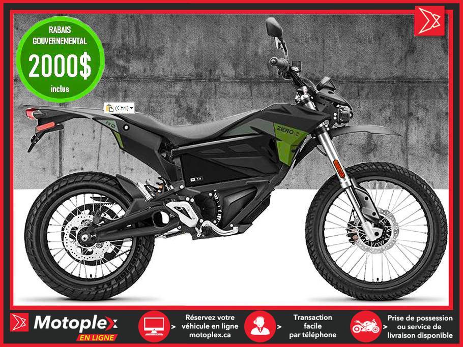 Zero Motorcycles Moto électrique - FX ZF7.2 2021