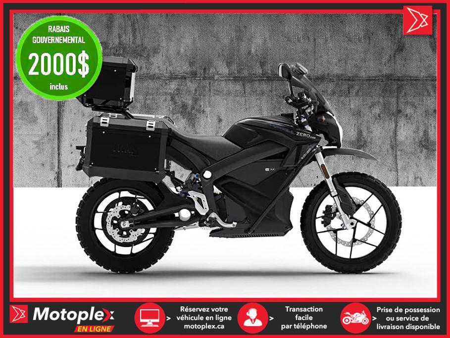 Zero Motorcycles Moto électrique - DSR/BF ZF 14.4 Power Tank - Black Forest Edition 2021