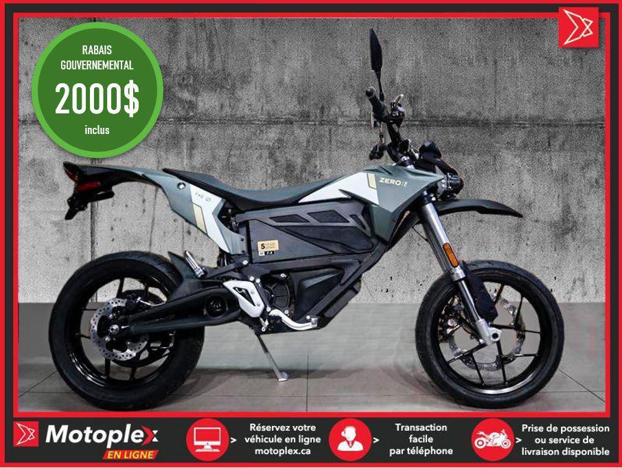 Zero Motorcycles Moto électrique - FXS ZF7.2 2021