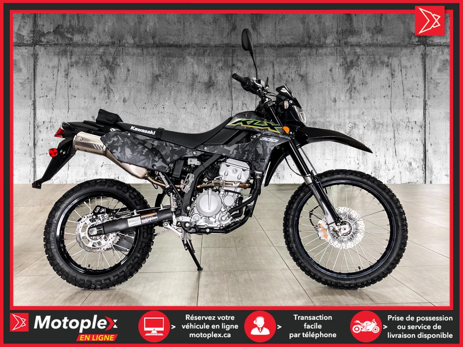 2021 Kawasaki KLX 300 CAMO