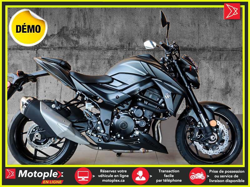 2020 Suzuki GSX-S 750 DEMO - 2 667 KM / 5 ANS DE GARANTIE - 33$/SEMAINE