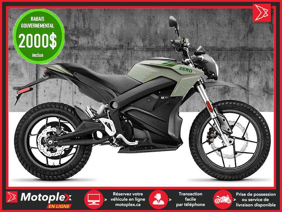 Zero Motorcycles Moto électrique - DS ZF7.2 Power Tank 2021