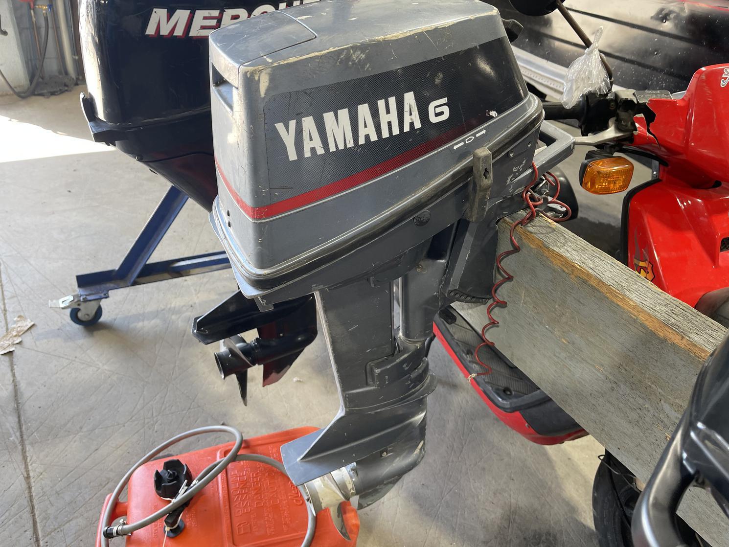 1991 Yamaha 6MSHP PIED COURT STANDARD