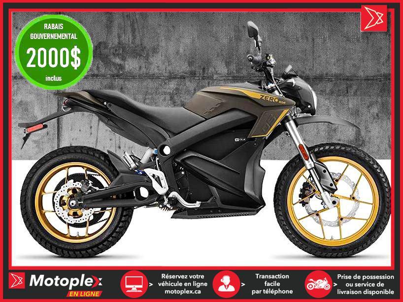Zero Motorcycles Moto électrique - DSR 14.4 Power Tank 2021
