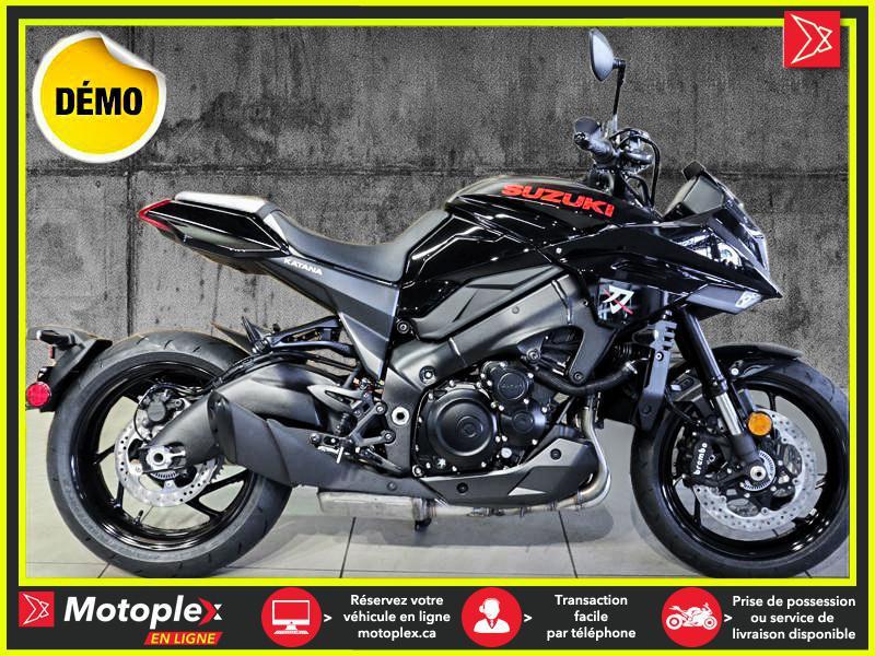 2020 Suzuki KATANA GSX-S1000 – DEMO 1133 KM 38$/SEMAINE