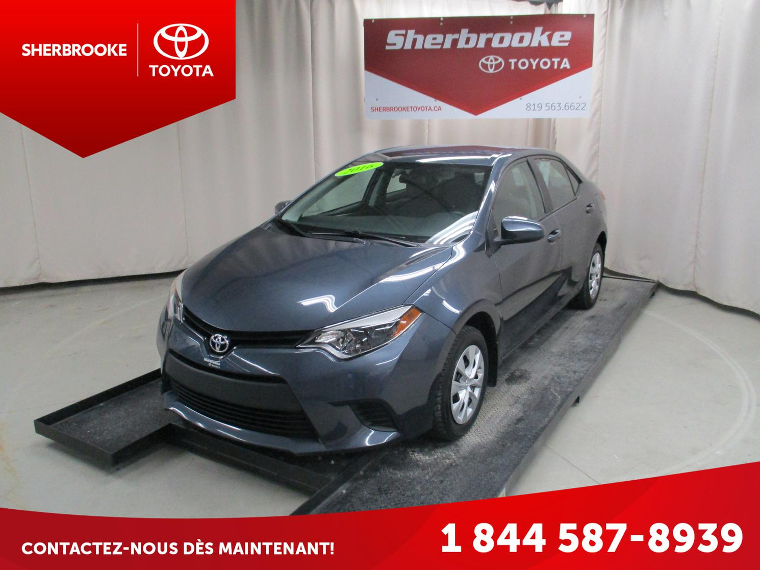 2016 Toyota Corolla CE Groupe Climatiseur